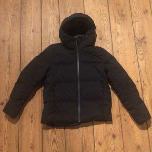 Uniqlo Seamless Down Short Coat Black XS